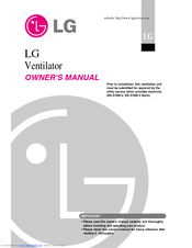 LG LZ-H0106BA0.ENWALEU Owner's Manual