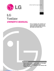 LG LZ-H1006BA0.ENWALEU Owner's Manual