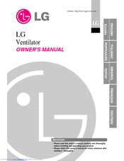 LG LZ-H080GBA1 Owner's Manual