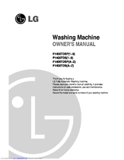 LG F1406TDS Series Owner's Manual