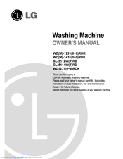 LG WDM-14311RDK Owner's Manual
