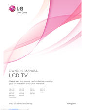 lg tv instruction manual