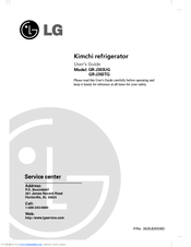 LG Dios GR-J303UG Series User Manual