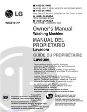 lg wm2101hw owner s manual pdf download rh manualslib com LG WM2101HW Washer Model LG Front Load Washer Parts