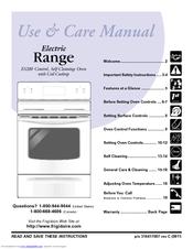 frigidaire fef354gs 30 inch electric range manuals rh manualslib com frigidaire electric stove top manual frigidaire electric stove top manual