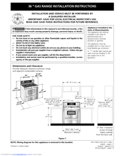 frigidaire plgf659gc 36 inch pro style gas range manuals rh manualslib com frigidaire gallery oven user guide frigidaire oven operating manual