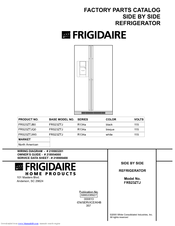 Frigidaire FRS23ZTJ Parts Catalog
