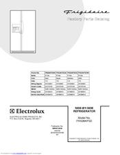 Frigidaire FRS26KF5D Parts Catalog