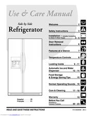 frigidaire frs26r4a manuals rh manualslib com frigidaire refrigerator manual defrost frigidaire elite manual refrigerator