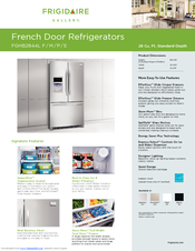 Frigidaire FGHB2844LF Specifications