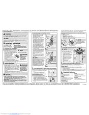 Frigidaire FGHB2844LF Install Manual
