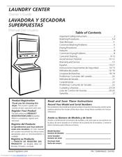 Frigidaire Ffle2022mw Manuals