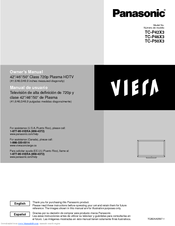 panasonic viera tc p50x3 manuals rh manualslib com panasonic viera tv user manual panasonic plasma tv service manual