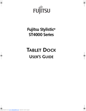 Fujitsu Stylistic 4121 User Manual