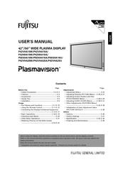 fujitsu p50xha10us manuals rh manualslib com fujitsu dl7400 user manual fujitsu asya12lgc user manual