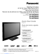 panasonic 42pz800u 42 plasma tv manuals rh manualslib com