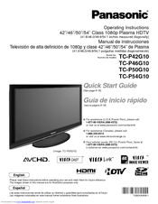 manual panasonic plasma viera