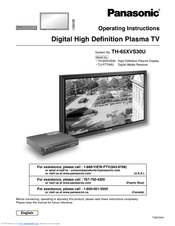 panasonic tu pt700u manuals rh manualslib com 37 TV Panasonic HDTV Panasonic Plasma TV Schematics