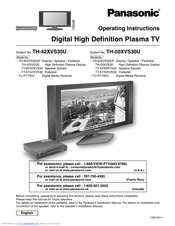panasonic tv remote control instructions