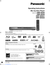 panasonic dmp bd60 blu ray disc player manuals rh manualslib com panasonic blu ray dmp-bd60 user manual Panasonic DMP- BD601