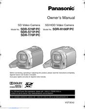 panasonic sdr h100 manuals rh manualslib com Panasonic NV-GS180 Panasonic SDR- H60P PC Microphones