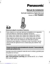 panasonic kx tga651 manuals rh manualslib com