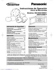Panasonic NN-SN667B Instrucciones De Operación