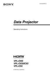 Sony vpl-es5 service manual pdf download.
