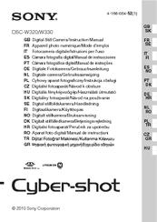 Download sony cyber-shot dsc-w330 pdf user manual guide.