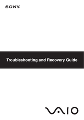 Sony VGN-P19WN/Q Troubleshooting Manual