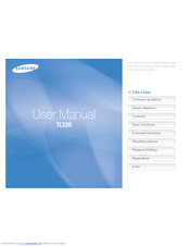 Download samsung tl220 pdf user manual guide.