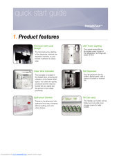 samsung rsg257aars manuals rh manualslib com Samsung Refrigerator with Water On Inside samsung rsg257 owners manual