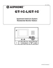 Aiphone GT-1C-L Operation Manual