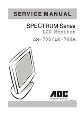 aoc spectrum lm 700 manuals rh manualslib com User Guide Template Kindle Fire User Guide