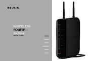 Belkin Router F5D8236-4 User Manual