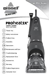 bissell proheat2x 8920 series manuals rh manualslib com Bissell ProHeat 2X bissell model 8920 manual