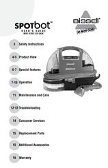 bissell spotbot manuals rh manualslib com Bissell Portable Spot Cleaner Manual bissell spotbot owners manual