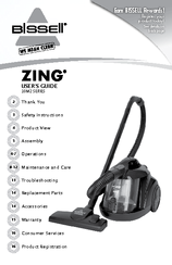 Bissell ZING 10M2 Series User Manual