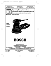 bosch 1295d manuals rh manualslib com Bosch Orbital Sander