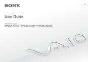 Sony VPCSE2C5E User Manual