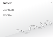 Sony VPCYB2M1E/P User Manual