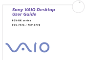 Sony PCV-RXM21 User Manual