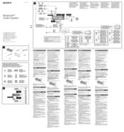 sony mex bt4700u manuals