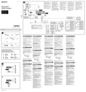 sony mex bt4000u manuals