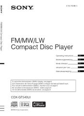 sony cdx gt540ui manuals Sony Cdx-Gt420u Wiring Diagram