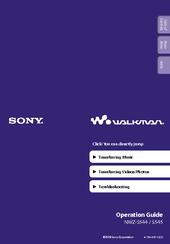 sony walkman nwz s544 operation manual pdf download rh manualslib com sony walkman nwz-s544 manual Sony Nwz- Zx1