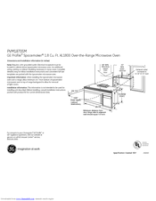 ge profile spacemaker pvm1870smss manuals