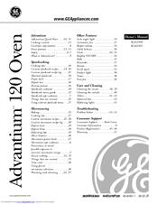 Ge Advantium 120 Manuals Manualslib