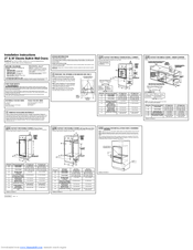 GE Profile PT920DRBB Installation Instructions