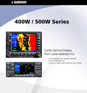 Garmin gns 530aw manuals garmin gns 530aw pilots manual addendum 50 pages 400w500w series sciox Images